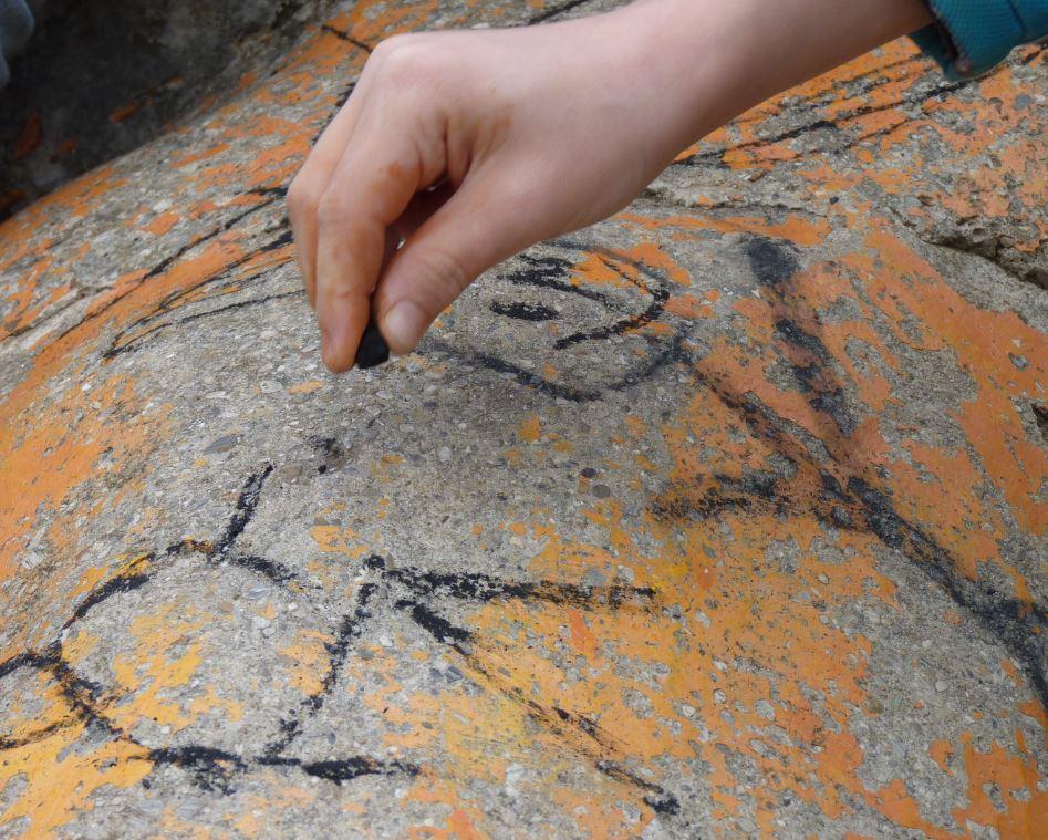 Malen wie in der Steinzeit